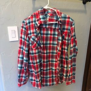 Plaid/Flannel Long sleeve Shirt